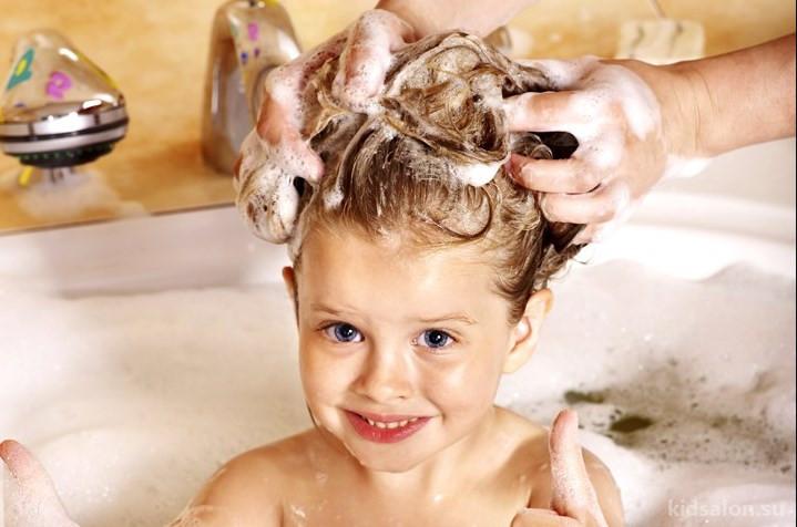 Картинки для детей мытье волос